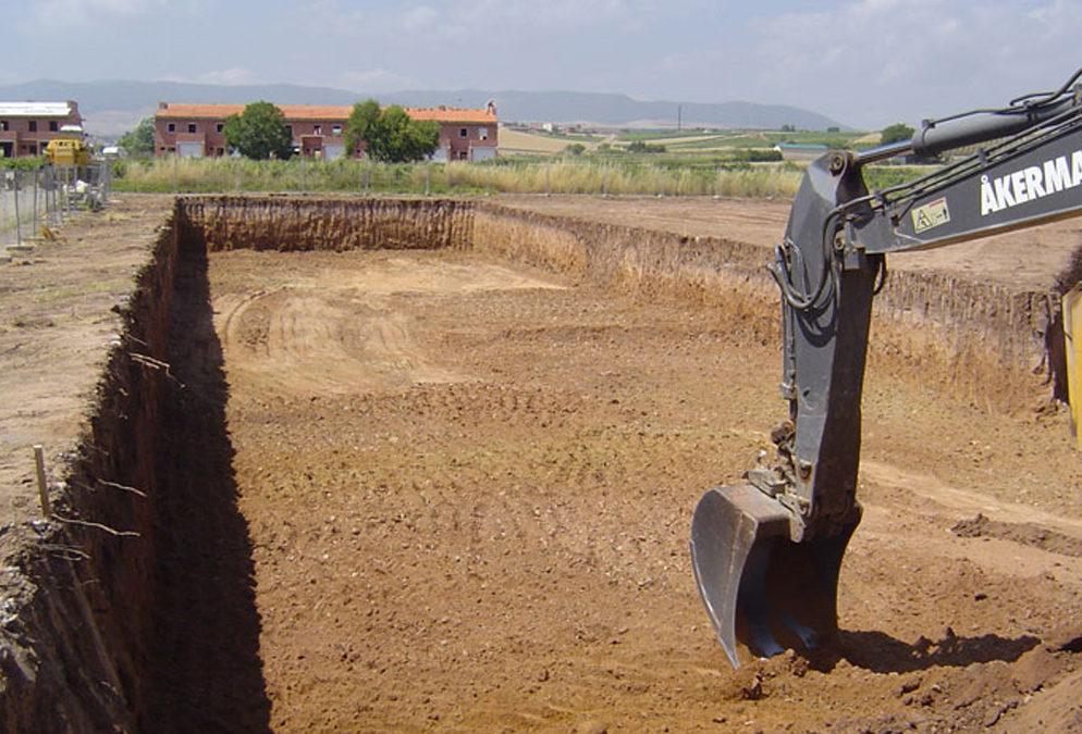 Проведение земляных работ при индивидуальном малоэтажном строительстве.