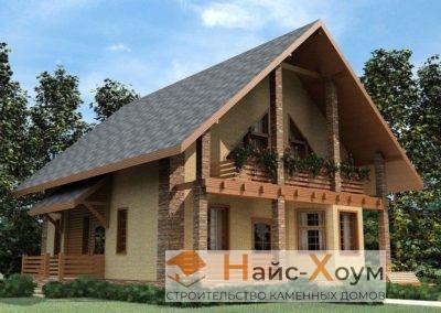 Красивый проект русского дома