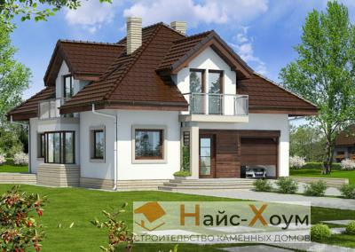 Проект красивого надежного дома